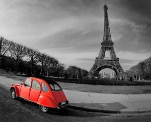 Paris off the beaten path, 2CV
