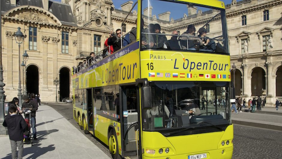 Bus Tour Paris