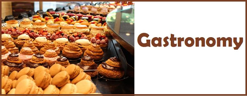 Gastronomy tab