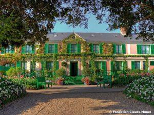 Giverny, Fondation Claude Monet, maison de Claude Monet