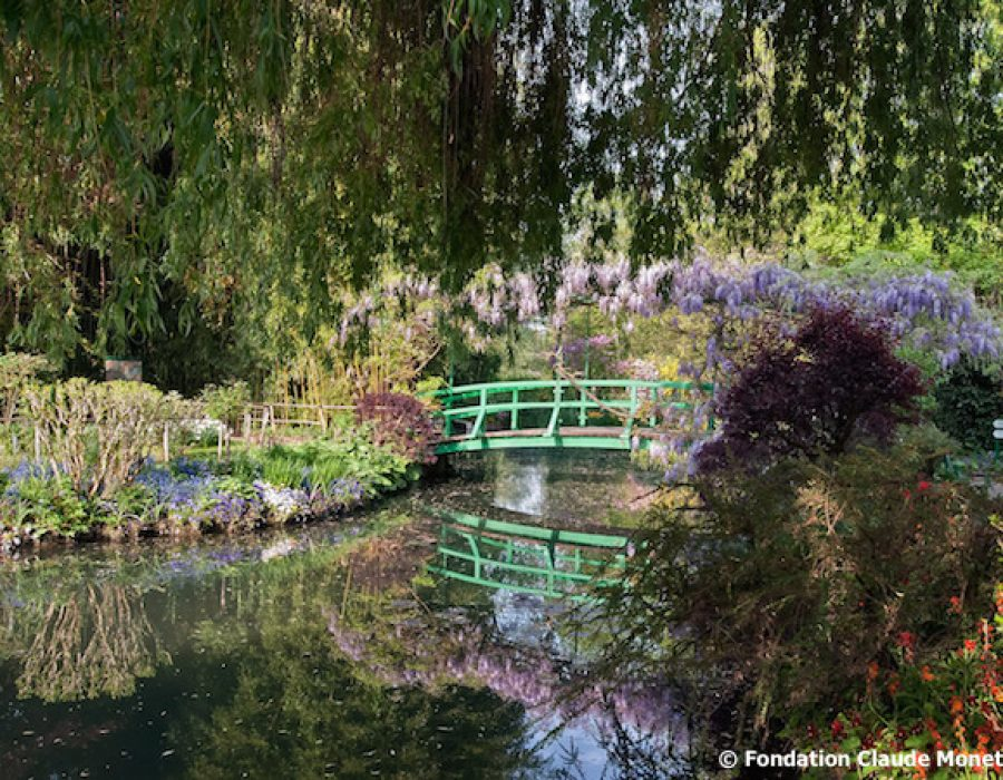 Giverny, Fondation Claude Monet, jardin d'eau, pont japonais, day trips from Paris