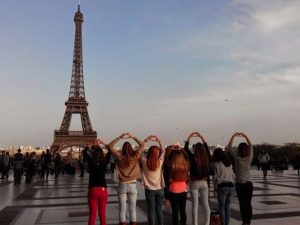Groups, Friends, Paris, Eiffel Tower Prices, team building in Paris