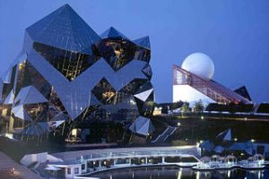 futuroscope, amusement parks in Paris