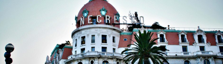 hotel negresco, the french riviera