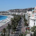 promenade des anglais, the french riviera