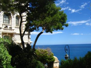 exotic garden of monaco, the french riviera