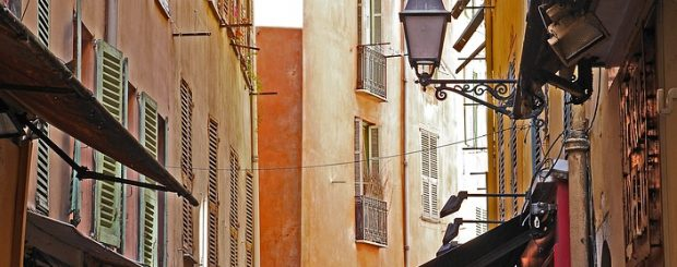 vieux nice, the french riviera