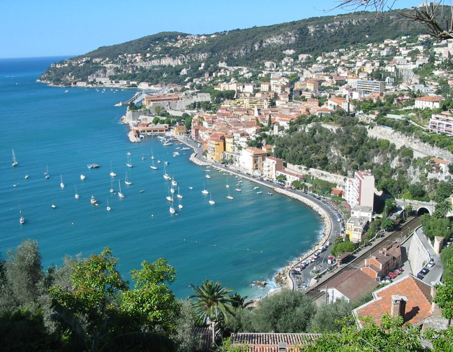 villefranche sur mer, the french riviera