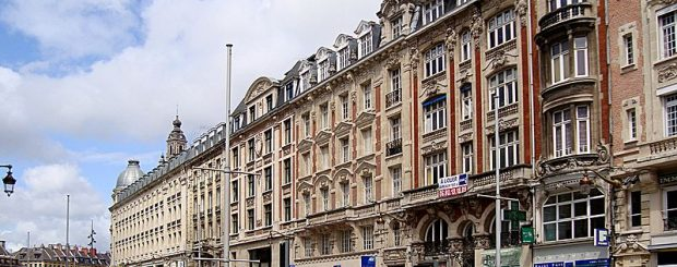 City Centre of Lille France Itinerary