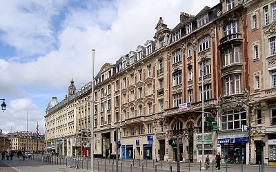 Lille City Center France Itinerary