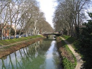 Canal du midi Toulouse France Itinerary
