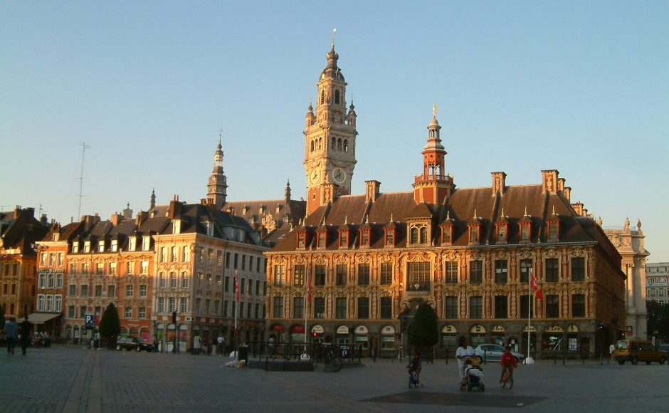 Lille Grande Place France Itinerary
