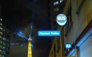 nightlife in paris, night bus