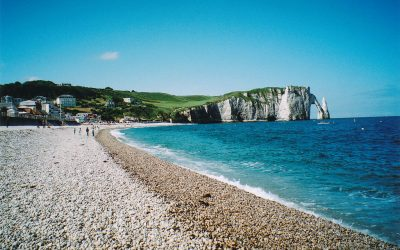 etretat, etretat cliffs, Normandy Beaches Tour