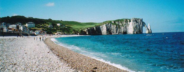 etretat, etretat cliffs, Normandy Beaches Tour