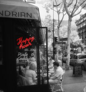 nightlife in paris, happy hour