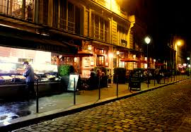 traditional brasserie in paris, restaurant, famous brasserie in paris