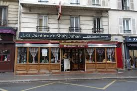 indian food in paris, restaurant