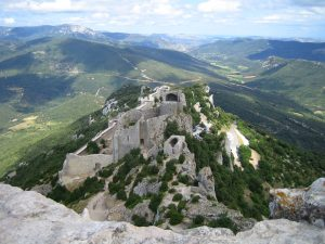 Chateau de Peyrepertuse Chateau de France