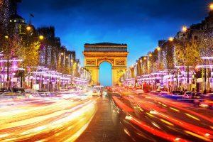 Champs Elysées, Valentine's Day,