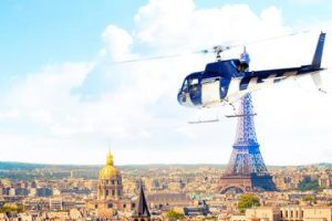 helicopter tour, paris, unusual ways to tour paris