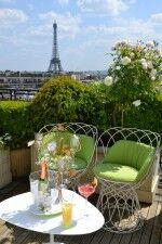 Rooftop in Paris, School Trips