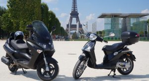motorcycle, unusual ways to tour paris
