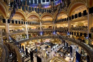 Shopping in Paris, French DMC