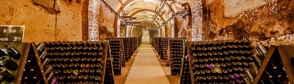 Champagne houses in Reims, day trips from Paris