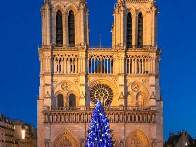 Christmas in Paris, France