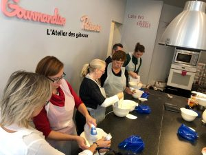 Group, Macaron workshop, macaron class
